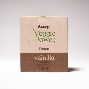 caja sachets veggie power savvy farmacia mundo vital